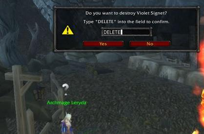 Violet Eye ring exchanges at exalted only