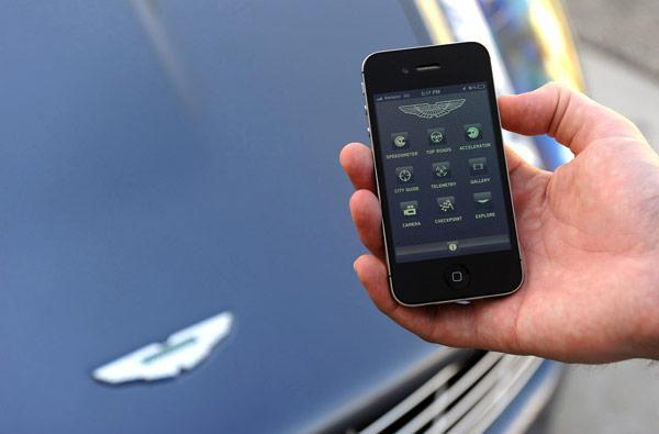 Aston Martin Experience could be the ultimate iPhone accessory, but you're gonna want the car