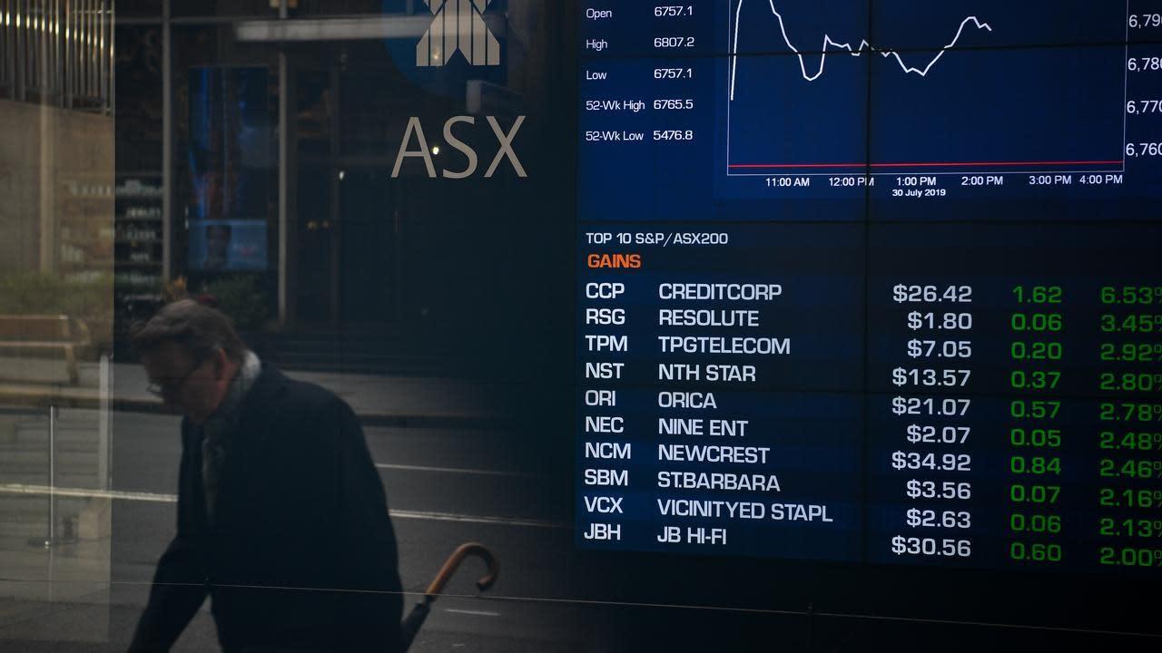 ASX falls as consumer staples lead losses
