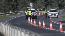 NSW tightens entry at border with Victoria