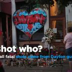 All fatal wounds came from Dayton shooter's gun: Coroner