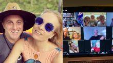 Angélica e Luciano Huck fazem encontro de família virtual