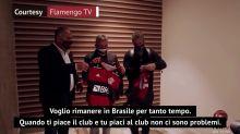 """Torrent si prende il Flamengo: """"Voglio restare a lungo"""""""