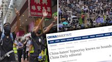 'Hysterical outburst': State media slams 'China haters' in scathing editorial