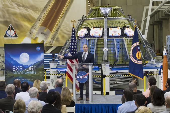 Aubrey Gemignani/NASA via Getty Images