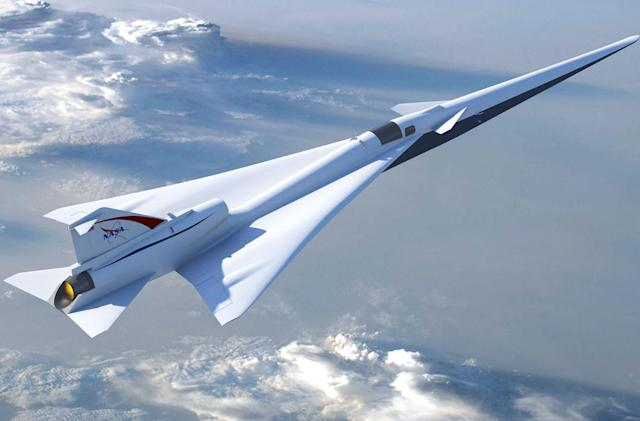NASA explores 'quiet' supersonic flight over land