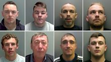 Criminal gang jailed for total of 71 years for £2m crime spree involving high-performance cars