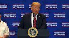 Trump to veterans: 'You backed me and I back you'