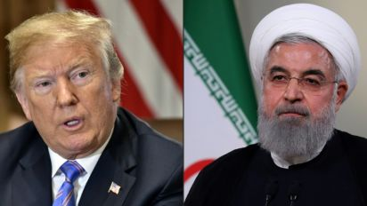 Iran says 'no plans' for Rouhani-Trump meeting