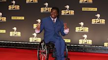 Paralympian Ade Adepitan announces birth of first child with wife Elle Exxe