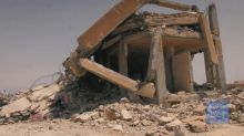 New video shows destruction near Raqqa after coalition strikes