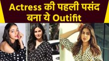 Sara Ali Khan To Ananya Pandey Bollywood Newbies Recreate Retro Look In Polka Dot Dress