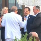 Anthony Scaramucci Turns Up At Hamptons Charity Event Featuring... Joe Biden