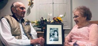 Couple's 72nd-anniversary photo shoot goes viral