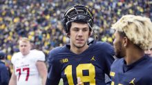 Jim Harbaugh leaves door open for Brandon Peters to become starting QB