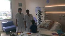 Bordeaux: L'hôpital des enfants va ouvrir six nouvelles chambres stériles pour les jeunes patients greffés