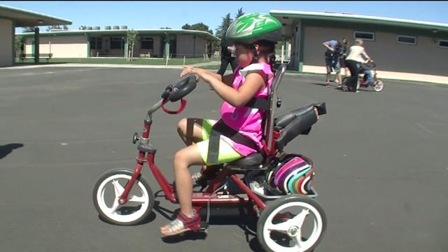 Thieves Steal Bikes From Special Education Students
