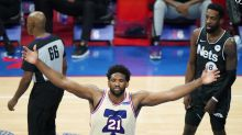 Embiid, 76ers top undermanned Nets 123-117 for 1st in East