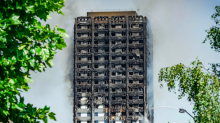 Grenfell Tower could be covered with giant tarpaulin to shield it from view of local residents