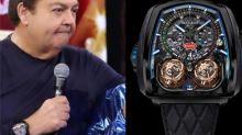 Relógio de Faustão fica R$ 1,4 milhão mais caro com dólar alto