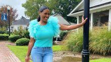 RHOA 's Kenya Moore Says She Doesn't Mind Her 25-Lb. Quarantine Weight Gain