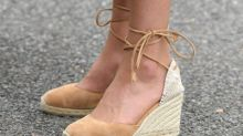 Kate Middleton just stepped out in her favourite espadrille wedges she's been wearing for years — here's where to shop them