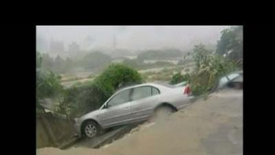 At least five dead in floods