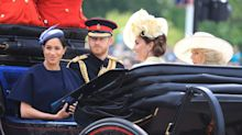 Meghan Markle's first public appearance since Archie's birth at Trooping the Colour