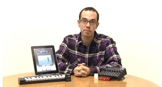 The iPad and MIDI hardware working together, here's how.