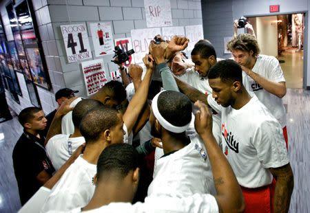 NBA: Playoffs-Houston Rockets at Portland Trail Blazers