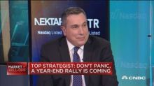 Don't panic here because a year-end rally is ahead, says ...