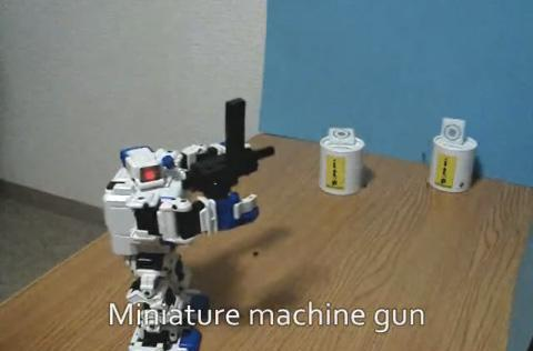 i-SOBOT goes haywire with stash of weapons, instills fear in mere mortals