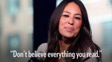 Joanna Gaines Speaks Out About Rumors She's Leaving Fixer Upper for the Beauty Business