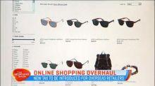 Online shopping overhaul