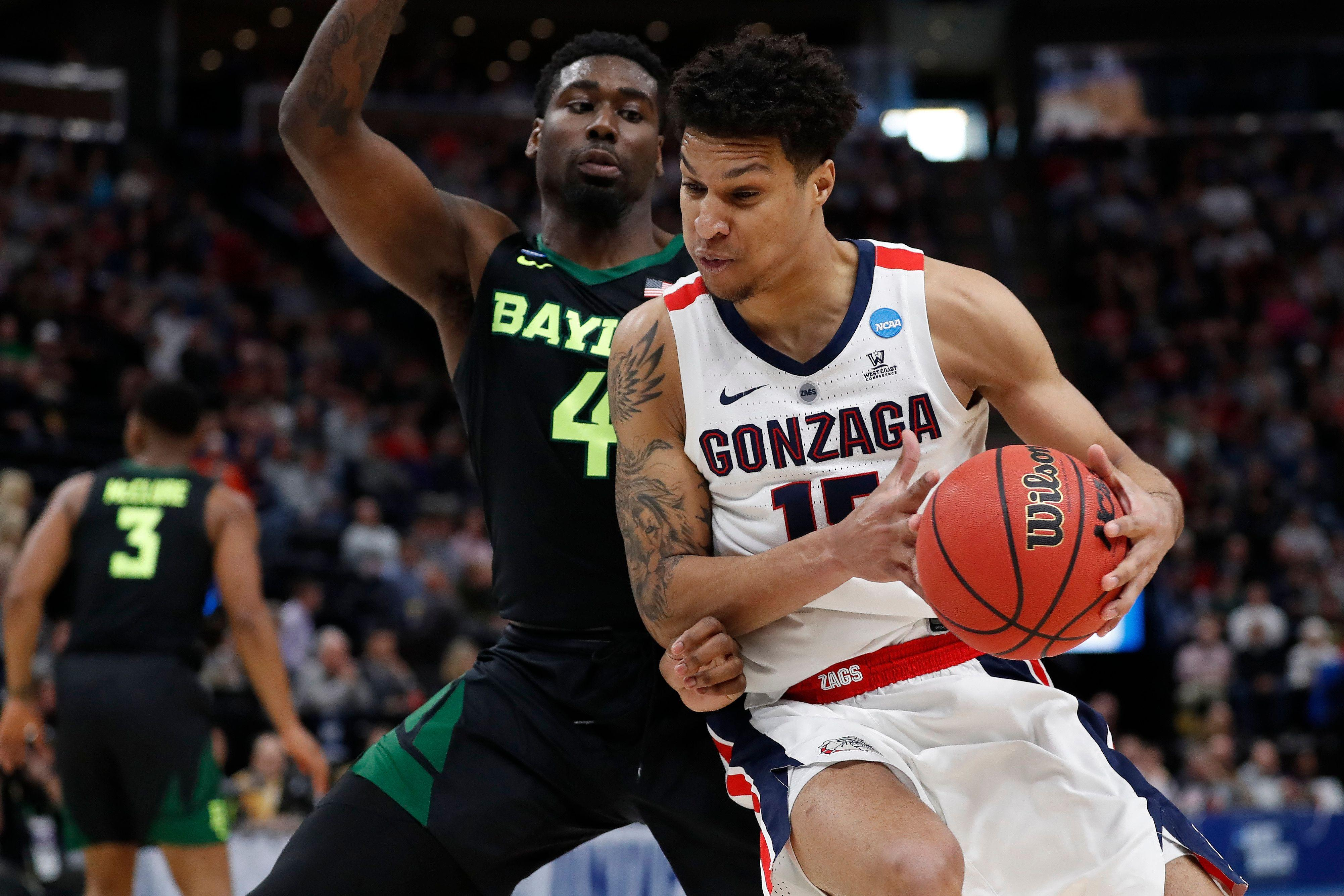 free shipping 158a4 2b217 Gonzaga extends longest active Sweet 16 streak to 5 with win over Baylor