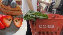 Coles shopper swears off strawberries after finding 'eggs' in breakfast