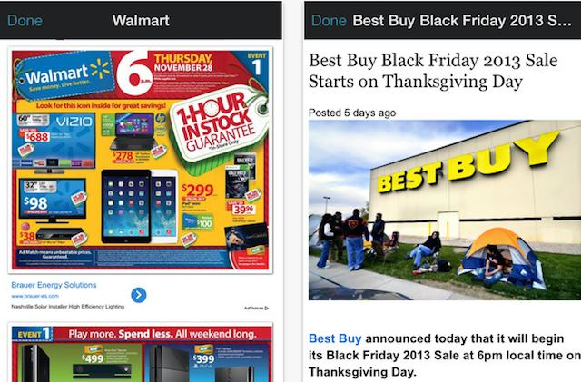 Black Friday 2014 Ads App is an all-in-one app for the worst shopping day of the year