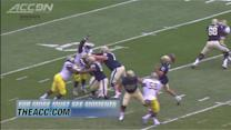 Pitt's Tyler Boyd Hauls in Great Rolling TD Catch   ACC Must See Moment