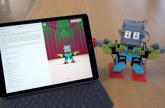 Apple's kid-friendly coding app can now bring toys to life