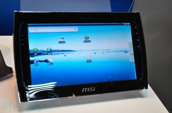 MSI WindPad 110: a 10-inch Tegra 2-powered Android tablet