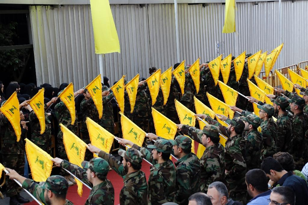 Hezbollah has sent thousands of combattants -- between 5,000 and 8,000 according to experts -- since 2013 to help the Syria regime against rebels and jihadists (AFP Photo/Anwar Amro)