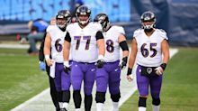 The Ravens' problems on the offensive line are overhyped