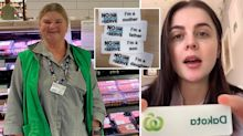 Woolworths employee wears second badge in attempt to stop customer abuse