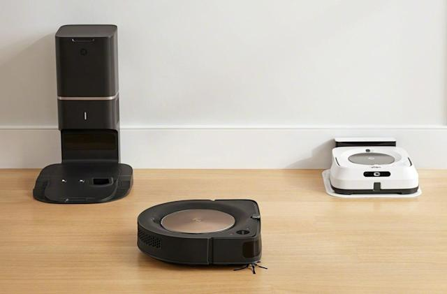 iRobot's new Roomba and Braava mop can clean together automatically