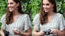 This is the camera Duchess of Cambridge uses to take her children's portraits