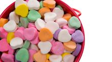Why you can expect 'silent' candy hearts for Valentine's Day this year