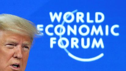 Davos's 'secret' is the rich need Trump: Ferguson