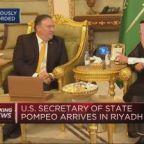 US Secretary of State Pompeo visits Saudi Arabia after jo...