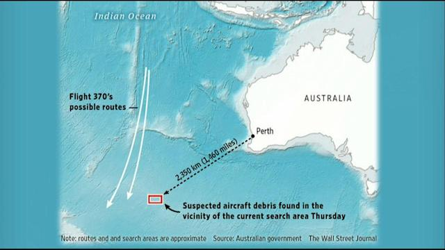New Search Launched for Possible Flight 370 Debris