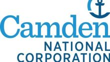 Camden National Corporation Reports an 8% Increase in Second Quarter 2019 Earnings